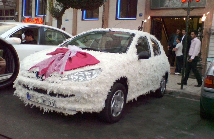 ماشین عروسی